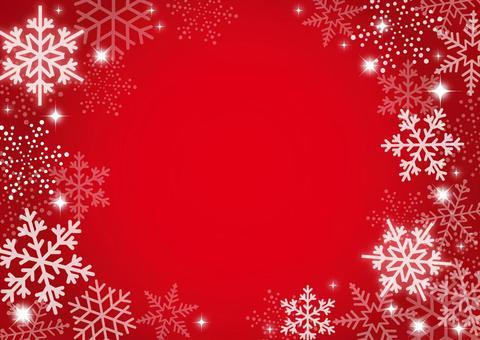 冬 雪 背景 赤