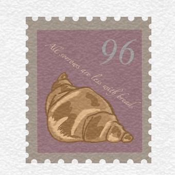 郵票羊角麵包