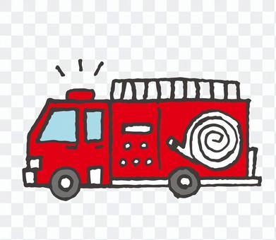 車シリーズ>消防車