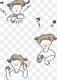 Insect repellent for children