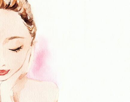 女性面部美容