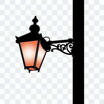 Retro street light
