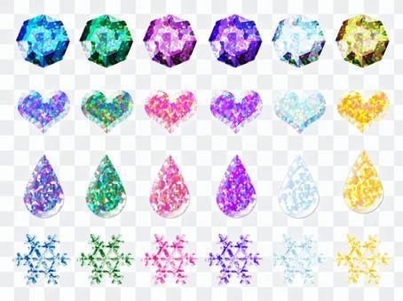 4種の宝石セット