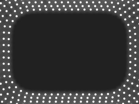 照明圓角框B:白色