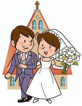 婚禮,教堂