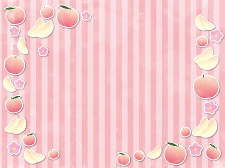 Peach material