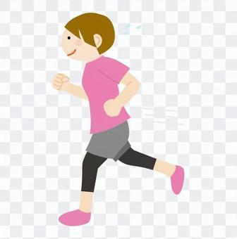 女人慢跑3