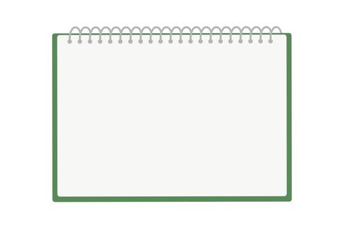 Sketchbook: green