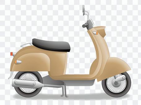 Cute pop scooter