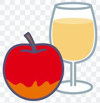 蘋果和蘋果汁