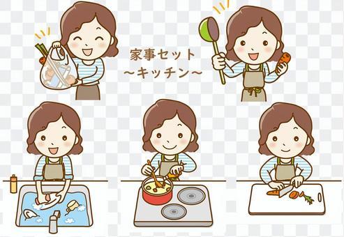 家務用具-廚房01