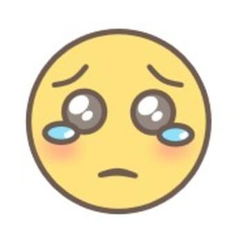 面對哭泣面對悲傷表情眼淚
