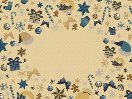 Christmas frame
