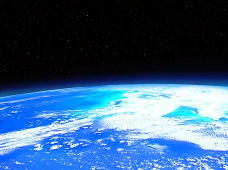 地球從衛星看到