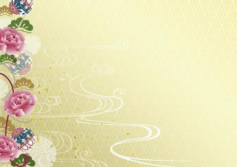 Japanese style background material 31