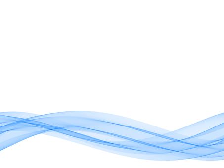Wavy blue background footer