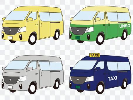 一廂式車麵包車出租車