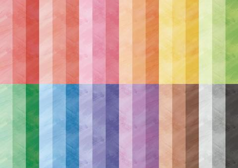 Watercolor pattern swatch