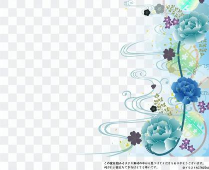 夏季47日式可能使用的背景材料
