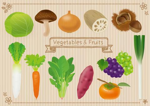 Autumn winter vegetables