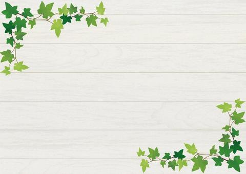 White grain and leaf background