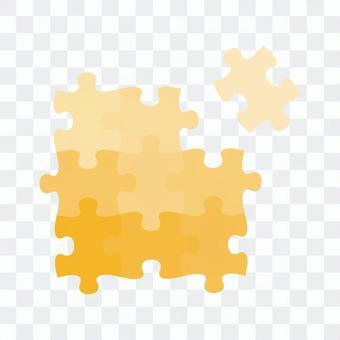 欠けたパズルピース01