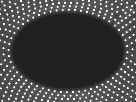 照明橢圓框 B: 白色