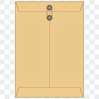 ハトメ付角型封筒