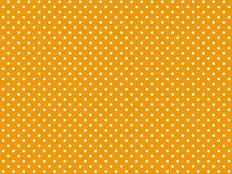 橙色波爾卡圓點背景