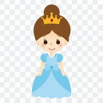 Princess (Blue Dress)