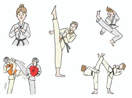 跆拳道套裝
