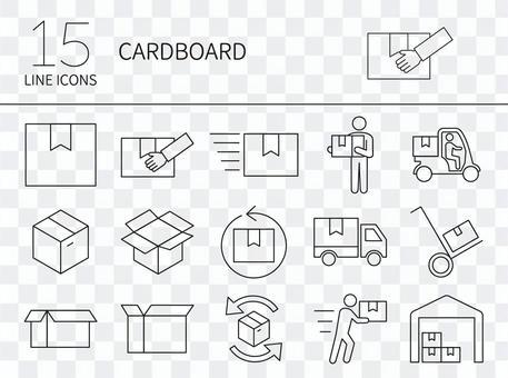 行李圖標集