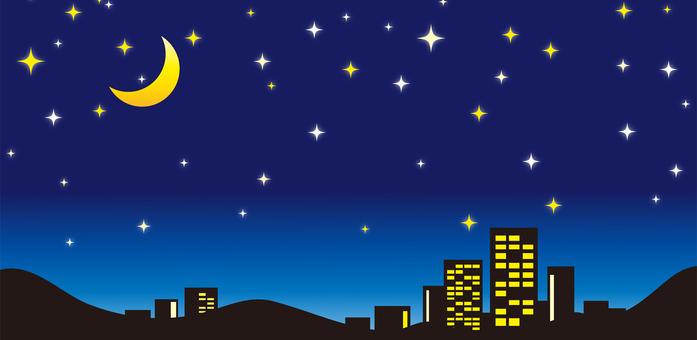 Night sky landscape material part 4