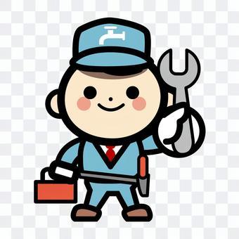 簡單的自來水站修理工