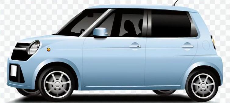 輕型車(藍色)