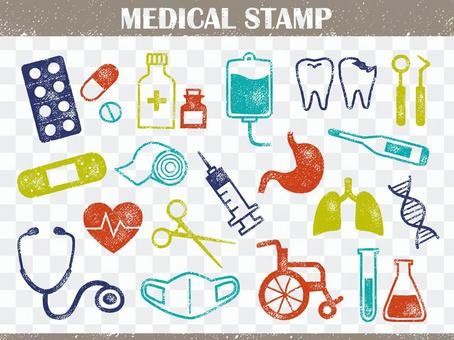 醫療郵票001