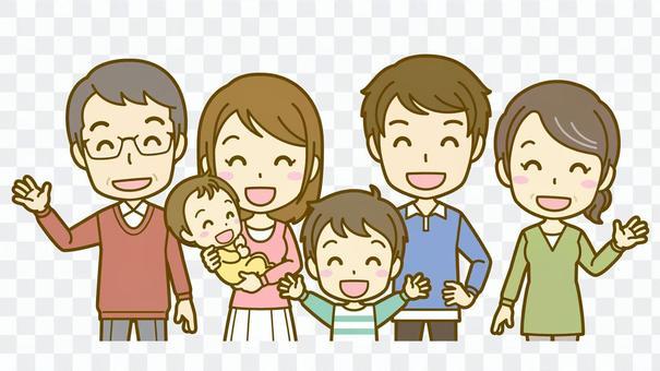 家族A(三世代)_笑顔02BS