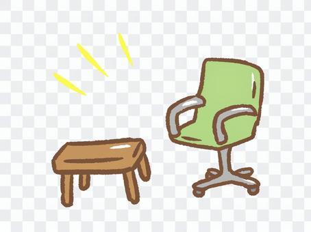 簡單的椅子套