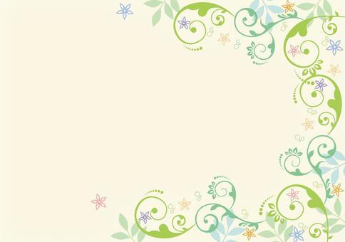 Vegetable pattern _ decoration