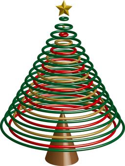Christmas tree image object