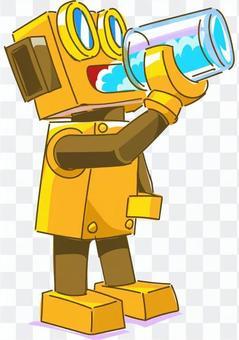 機器人飲用水2