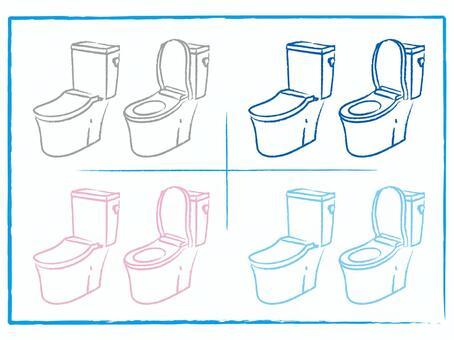 衛生間組合手洗無槽角度繪圖