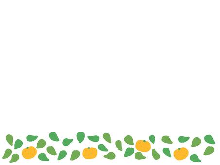 Mandarin field frame
