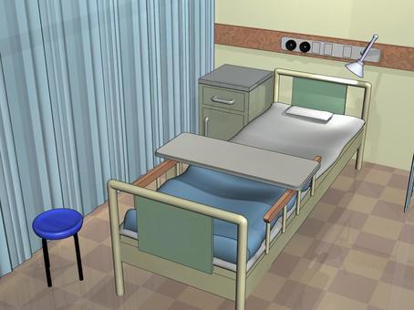 医院的房间