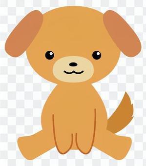 狗毛绒玩具