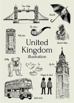 英國的插圖