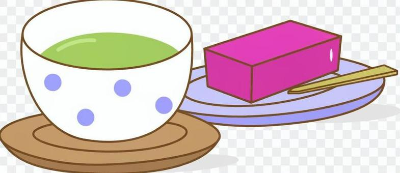 茶和洋甘菊
