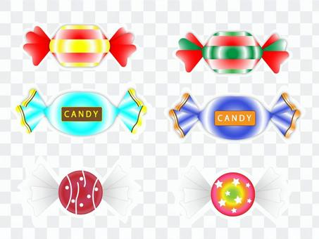 キャンディ 詰め合わせ ステッカー風