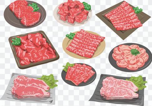 牛肉集體線沒有
