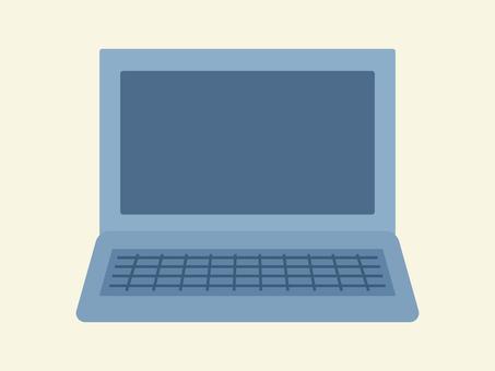 簡單可愛的筆記本電腦